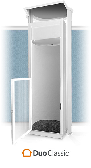 Duo Classic Half-Height Home Lift