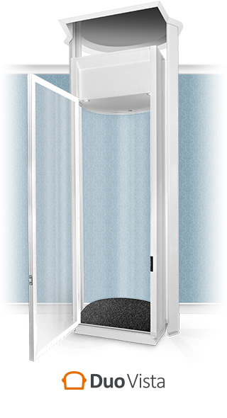 Duo Vista Full-Height Home Lift