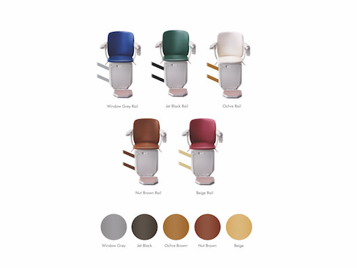 Siena stairlift colors