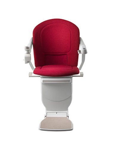 Stannah Sofia Stairlift - Red Woven Model