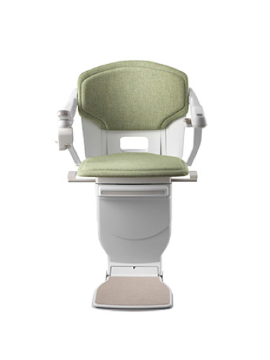 Stannah Solus Stairlift - Green Woven
