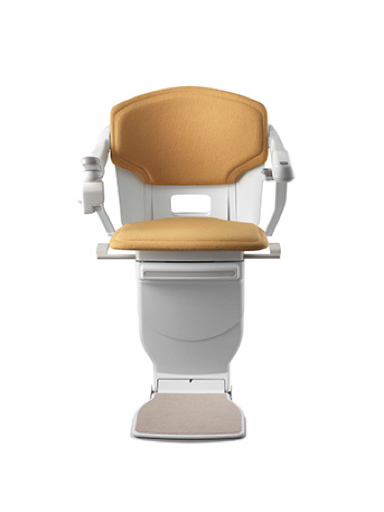 Stannah Solus Stairlift - Mustard Woven