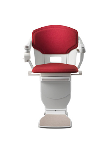 Stannah Solus Stairlift - Red Woven