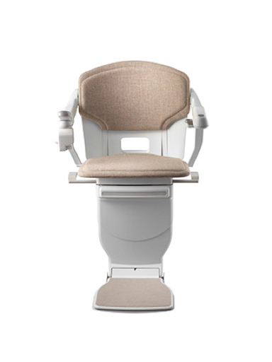 Stannah Solus Stairlift - Stone Woven